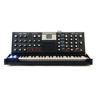 Moog Minimoog Voyager Analog Performance Synthesizer - Electric Blue Edition at Hello Music