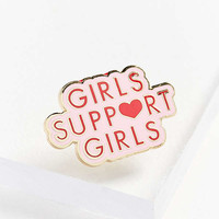 Daisy Natives Girls Support Girls Pin | Urban Outfitters