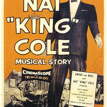 The Nat King Cole Musical Story 11x17 Movie Poster (1955)