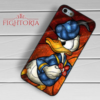 Donald Duck Disney Cartoon -5rw for iPhone 6S case, iPhone 5s case, iPhone 6 case, iPhone 4S, Samsung S6 Edge