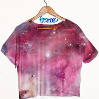 Milky Way Galaxy Crop | fresh-tops.com