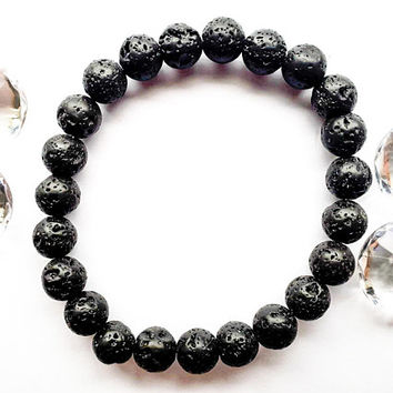 Lava Bead Bracelet | Natural Essential Oil Diffuser