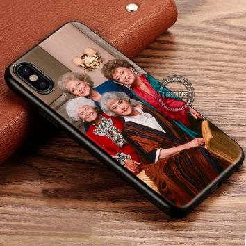 The Golden Girls Retro Movie iPhone X 8 7 Plus 6s Cases Samsung Galaxy S8 Plus S7 edge NOTE 8 Covers #iphoneX #SamsungS8