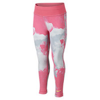The Nike Dri-FIT Skinny Preschool Girls' Leggings.