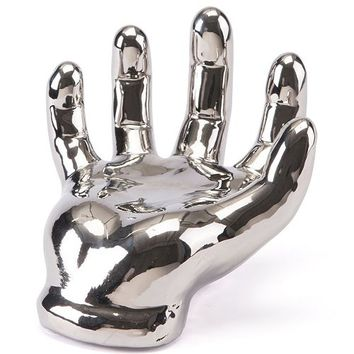 Zuo Hold On Hand Silver Silver Collectible Figurines - Macy's
