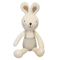 Toto The Bunny Organic Cotton Lovey Toy - Small