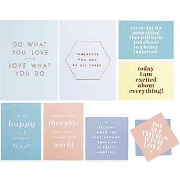 VISION BOARD KIT 10PK: INSPIRATION 2014 - Vision Board - Inspiration Boards - Stationery
