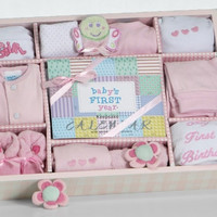 Baby For All Seasons Gift Set - Girl