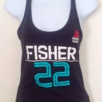 "NWOT Women's Limited Edition 2016 Reebok CrossFit Games ""Fisher"" Tank Size: S"