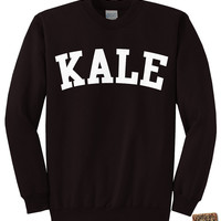 KALE SWEATSHIRT - Kale Shirt - Flawless Sweatshirt - Beyonce Shirt - unisex - Mens - Womens - Black, Ash, and Charcoal s,m,l,xl, 2x, 3x