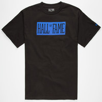 Hall Of Fame Your Name 3.0 Mens T-Shirt Black  In Sizes