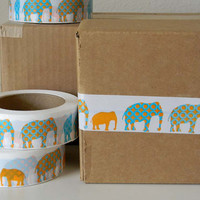 Elephants - Fancy Packing or Shipping Tape