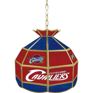 Cleveland Cavaliers NBA 16 inch Tiffany Style Lamp