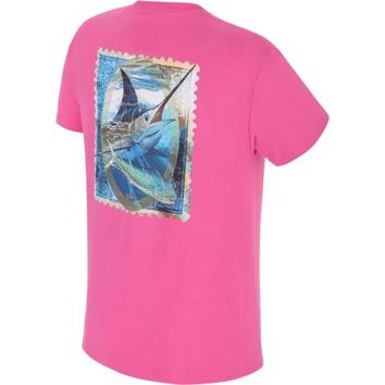 Guy Harvey Men's Aruba Print Graphic T-shirt