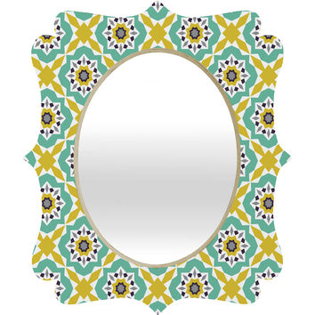 Heather Dutton Mattonelle Quatrefoil Mirror