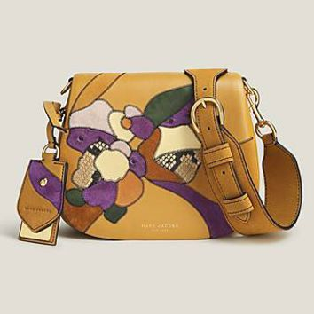 Patchwork Flowers Small Nomad Saddle Bag - Marc Jacobs