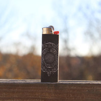 Sworn In - The Death Card Full Size Lighter