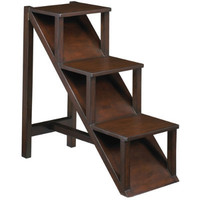 Hampshire Step Shelf - Library Stair Shelf - Decorative Step Shelf