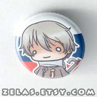Chibi Anime Button: Hetalia- Russia