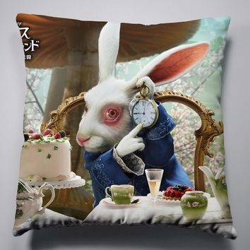 Anime Manga Alice In Wonderland Pillow 40x40cm Pillow Case Cover Seat Bedding Cushion 012