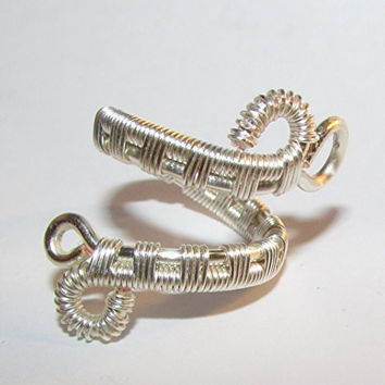 Handmade Adjustable Wire Woven Ring