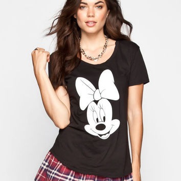 Neff Disney Collection Team Play Womens Tee Black  In Sizes