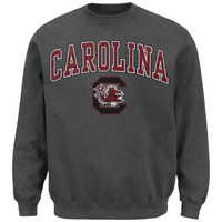 South Carolina Gamecocks Midsize Classic Crew Sweatshirt - Charcoal