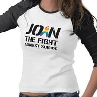 Join the fight against gay suicide tee shirt from Zazzle.com