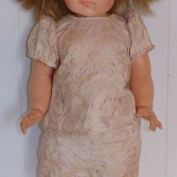 "Ideal Goody Two Shoes 18"" Doll"