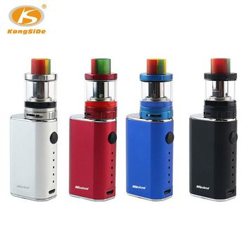 Russian Delivery 0.3ohm Electronic Cigarette Kangside MINIMI Vape Mod 10W-50W 1400mAh Vaporizer Pen 2ml E-cigarette Mod Kit