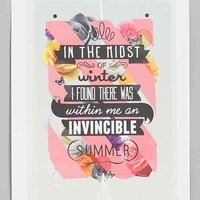 Matthew Kavan Brooks Invincible Summer Print- Multi One