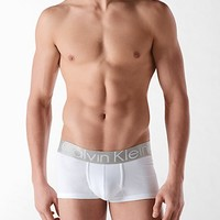 steel cotton low rise trunk | Calvin Klein
