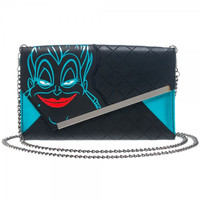 Disney Ursula Envelope Wallet with Chain