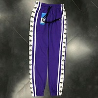 ADIDAS men and women couples string terry pants sweatpants F-AG-CLWM Purple