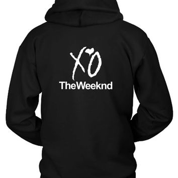 Xo The Weeknd Hoodie Two Sided