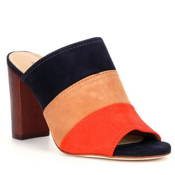 Antonio Melani Hall Peep-Toe Mules | Dillards