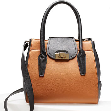 Dishna Fold-Over Satchel