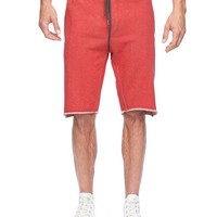 True Religion French Terry Active Short - Cbb Ruby/pavemnt