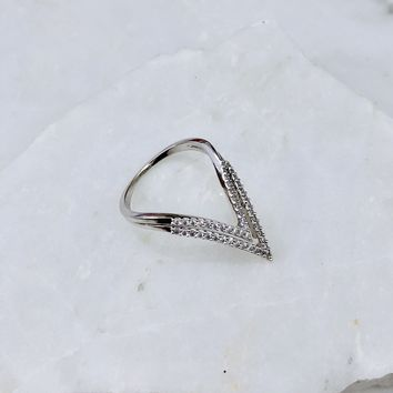 On The Edge Diamond Ring