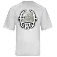 adidas Army Black Knights 2013 Spring Game Football Sideline Performance T-Shirt - White
