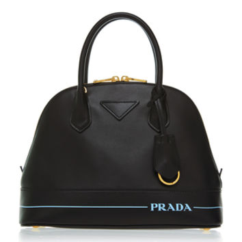 Printed Leather Shoulder Bag | Moda Operandi