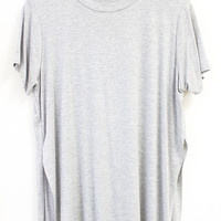 Side Slit T-Shirt (More Colors)