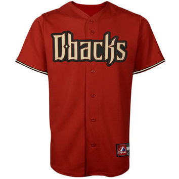 Majestic Arizona Diamondbacks Crimson Replica Baseball Jersey