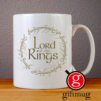 Lord of the Rings Logo Ceramic Coffee Mugs