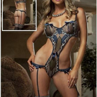 Cute On Sale Hot Deal Sexy Lace One-piece Exotic Lingerie [6595908867]