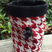 Houndstooth Chalk Bag for Climbing
