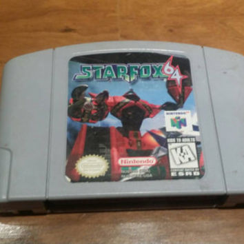 Star fox 64 Nintendo 64 n64 console system game FREE SHIPPING