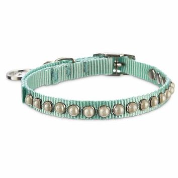 Bond & Co. Blue Pearl Collar | Petco