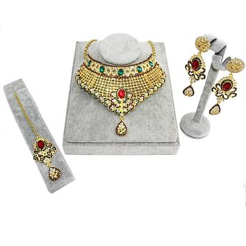Traditional Indian Kundan Wedding Set