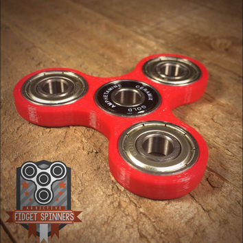 EDC Spinner Tri Bar Fidget Toy  **ships out within 24 hours of order being placed!**